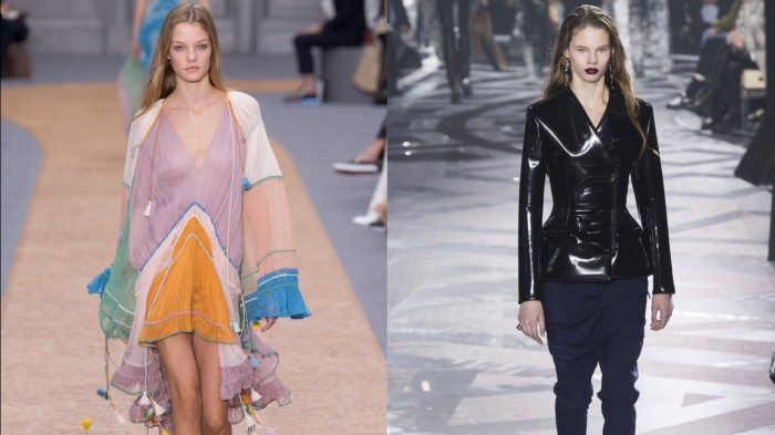 Chloe and Louis Vuitton