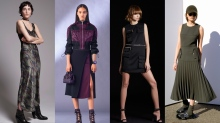 Nili Lotan, Versace, DSquared2, Dion Lee pre-fall 17