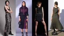 Nili Lotan, Versace, DSquared2, Dion Lee pre-fall 17