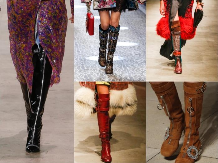 Buckles & zips l to r: Ellery, Dolce & Gabbana, Prada, Prada, Miu Miu AW17