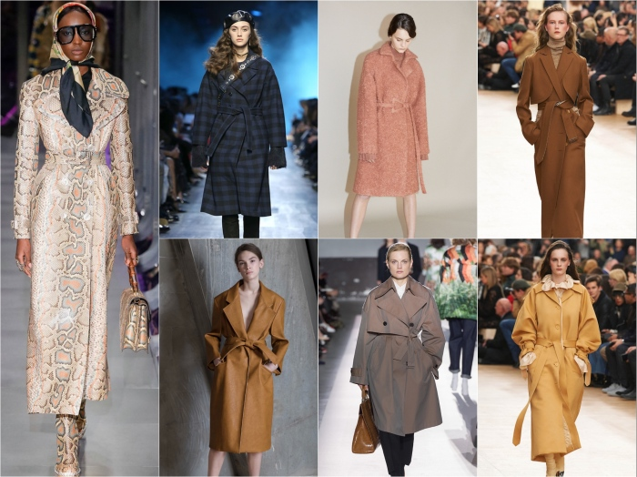 Clockwise from left: Gucci, Dior, Carven, Nina Ricci, Nina Ricci, Dries Van Noten, Vika Gazinskaya AW17