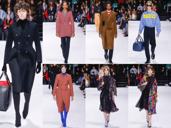 Resignación Idear esquina  Balenciaga AW18: Bodycon, big and bi! | TRENDWALK.net